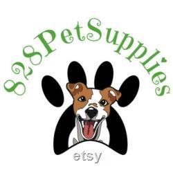 828 Pet Supplies Raised Large Dog Bed Acorn Frame Rondo Oatmeal Fabric -
