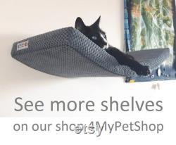 ARC 60 cat shelf, cat shelves, cat furniture, cat bed, cat furniture wall, cat perch, wandregal katze, katzenmöbel, car gift, kitten, kitty