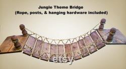 Cat Bridge with Landings Modern Cat Furniture Cat Shelves Cat Shelf Cat Tower Cat Bridge Cat Tree Rustic Cat Decor