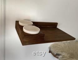Cat Shelf with Snack Tray
