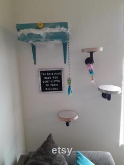 Cat Wall Sleeper, Cat Wall Steps, Cat Wall Letter Board