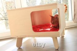 Cat house and coffee table