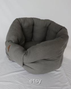 Cocooning dog basket