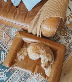Custom Dog Couch, Dog Sofa, Pet Sofa, Dog Bed, Switchable covers and Free Shipping
