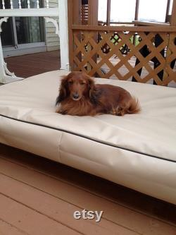 Dog Bed Fits A Baby Crib Mattress, Dig Proof Cover, Mildew Proof Bed, Dog House Pillow Cover, 100 Waterproof, Incontinence Beds, 16 Colors