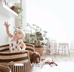 Dog Bed, Handmade Dog Bed, Dog Lounger, Dog Seat, Basket Dog Bed