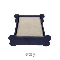 Dog Bed, Orthopedic Cushion, with a cool Dog-Bone look Made in the USA