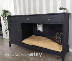 Dog Cage, Dog Crate, Pet Furniture, Dog Bed, Pet Sideboard, Luxury Furniture for pets, luxury dog bed. Bespoke dog bed.