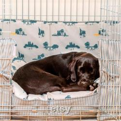 Dog Crate, Bumper and Cushion in Central Park