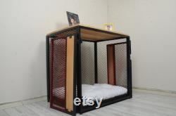 Dog House, Dog Crate, Dog Kennel, Dog Furniture, Cat House, Wooden Dog Crate, Dog Crate Cover, Dog Bed, Designer Dog Bed, modern dog house