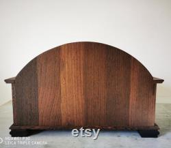 Dog and cat bed, handmade with fine wenge wood. Country model.