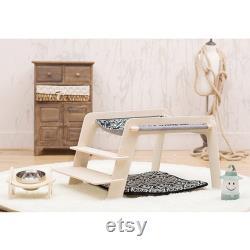 Dog bed pet kitten supplies home cat nest cat house dog hammock with thick mat