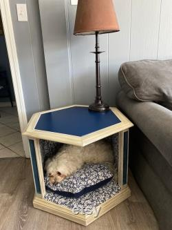 End Table Dog Bed