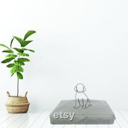 HOUNDER The HOUSTON Water-Repellent Dog Bed Minimalist, Modern, Scandi Vegan Leather Dog Bed Grey