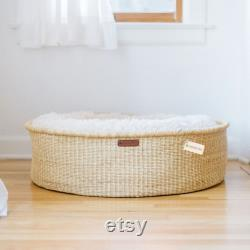 Handmade Dog Bed by Design Dua, Dog Bed and Lounger, Dogs Beds, Puppy, Donut Bed, Donut Dog Bed