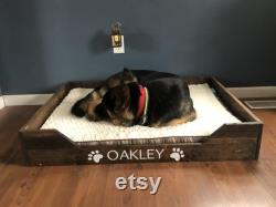 Handmade dog bed, handmade wood dog bed, handmade cat bed, handmade pet bed, handmade pet bed frame