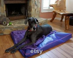 Heavy Duty Dog Bed, Very Easy To Clean Just Hose Off And Air Dry, Will Last For Years, Dog Bed Large Replacement Cover 18 OZ 16 Colors 48x48