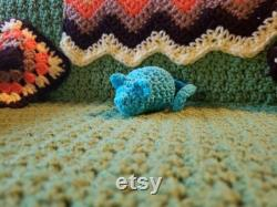 Kitty Cat Couch, crochet, small dog or cat bed, made to order with free Catnip Crazies toy and FREE SHIPPING