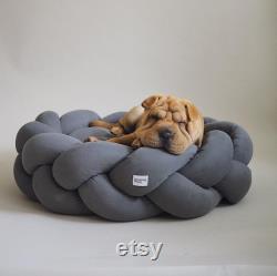 Kolosony Dog bed Graphite Yellow Grey Pink Pet beds Unique pet gift Dog beds Small Medium Large Dog