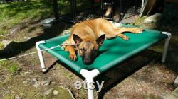 Large Dog Bed 4 Sizes, 26 Colors, Canvas Dog Frame Cot, Orthopedic Dog Bed, Medium Beds, Outdoor Pet Beds, Pet Gifts Dogs Up To 130 Pounds
