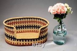 Large Dog Bed, Custom Dog Bed, Pet Baskets, Handwoven Dog Basket, Small Dog Basket
