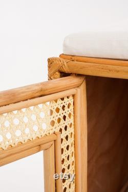 Launch Sale Wicker Litter Enclosure, Cat Litter Box, Cat Furniture