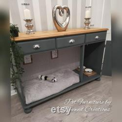 Luxury Dog Bed, Dog Crate, Dog Bed Furniture, Pet Sideboard. Puppy Bed, Dog Cage.