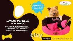 Luxury Pet Beds and Special Discounts Up To 50 Off Today