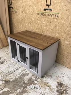 Luxury dog crate pet furniture