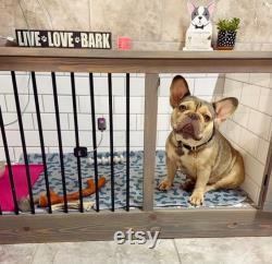 MADE-TO-ORDER Kustom luxury dog space for small medium dog breeds