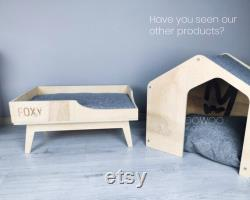 Modern Cat Bed, Natural Pet Bed Made Of Special Birch Wood, Large Size, For Cats and Small Dogs