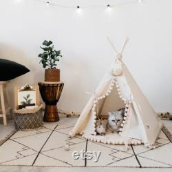Modern Dog Bed Dog Teepee and Cat Teepee from 100 Cotton in Beige