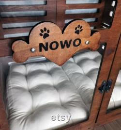 Modern Dog House, Wooden Pet House, Dog Bed Dog Crate,Dog Kennel,Dog House,Indoor Pet Furniture
