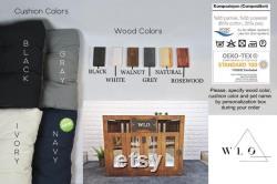 Modern Dog House, Wooden Pet House, Dog Bed, Dog Crate, Dog Kennel, Wood Dog House, Pet House, Pet Furniture, Dog Furniture, WLO