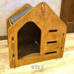 Modern Dog House, Wooden Pet House, Dog Crate, Dog Kennel, Dog Bed, Wood Dog House, Pet House, Pet Furniture, Dog Furniture