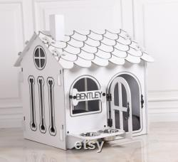 Modern Dog House, Wooden Pet House, ndoor Dog Bed, Dog Crate, Dog Kennel, Wood Dog House, Pet House, Pet Furniture, Dog Furniture,