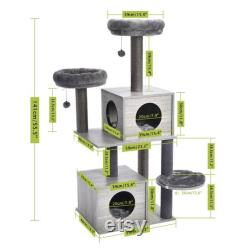 Modern and Design cat tree (140cm)