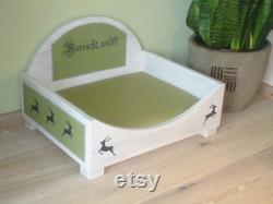 Naughty Dog or cat bed beware, wild