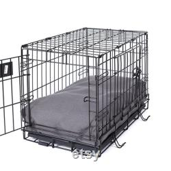Pewter Eco Friendly Rectangular Dog Bed