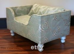 Shabby Chic Dog Bed Custom Dog Bed Furniture Custom Cat Bed Ribbons and Bows Pet Bed