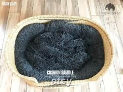 Small Bolga Dog Basket African Dog Bed Handmade Dog Bed Comfortable Dog Bed Wicker Dog Bed Dog Bed