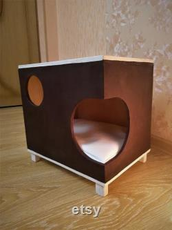 Stylish cat house, Cat bed, For catlover, cat cabinet, Cat Pillow, modern cat furniture, pet supplies, cat house,