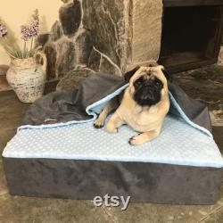 The orthopedic and very comfortable dog bedding Memory foam 80 x 60 cm