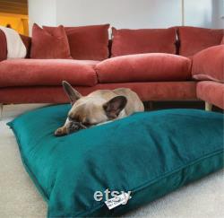 Velvet Dog Bed