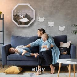 Wall Bed for Cats, Modern Cat Bed, Wooden Cat House Indoor, Cat Furniture, Cat Climbing Shelf, Cat Owner Gift
