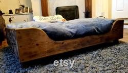 Wooden Dog Bed