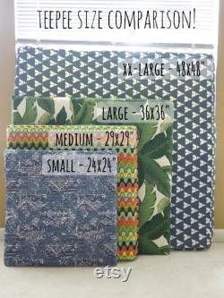 24 Petit Chat Chien Teepe Pet Tent- 24 Base- Naturel, Noir Ou Gris, Pick Your Pillow Or Custom Commandez-le