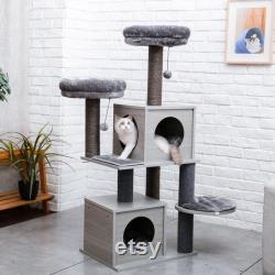 Arbre De Chat Moderne Et Design (140cm)