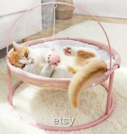 Chat Maison De Lit Animaux Petits Chats Hammock Lits Mat Pour Kitten Fenêtre Lounder Indoor Nest Kennel Sleeping Puppy Cushion