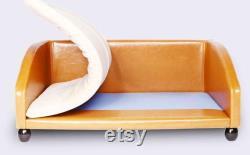 Chenil Amovible Et Lavable Pour Petits Chiens Golden Retriever Canapé Lit En Cuir Fournitures Pour Animaux De Compagnie Chenil Tapis